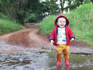 Regen im Sommer macht Spaß